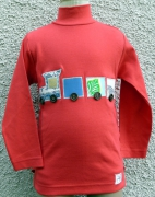 art textile mode mode enfant train garcon : T-shirt le Petit Train de ModelUnik 6 ans